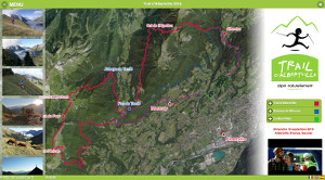 Capture du site Trail d'Albertville 2018